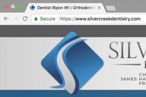 secure dental website