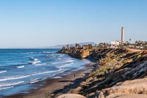 South Carlsbad State Beach in San Diego, California