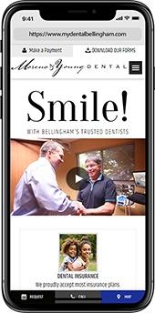 Best mobile website design for dentists - TNT Dental