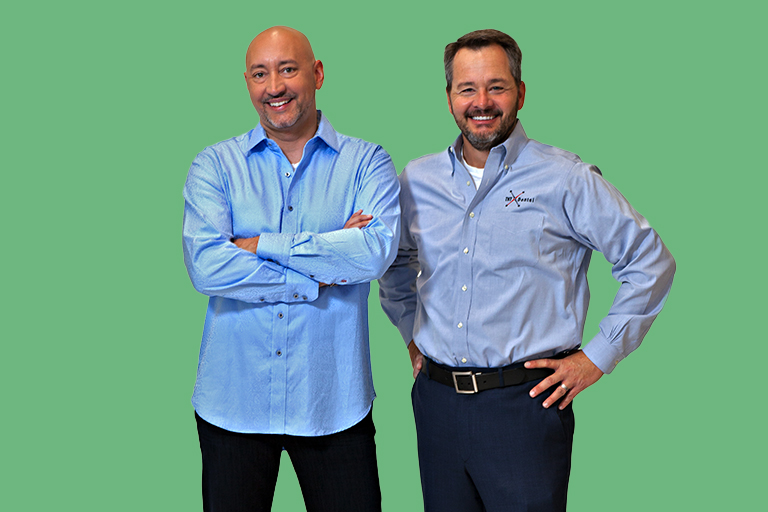 Tim Healy and Tim Kelley, founders of TNT Dental