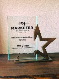 TNT Dental Marketing Award