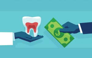 exchanging dental care for payment