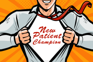 New dental patient champion - marketing