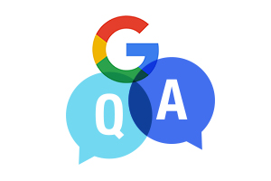 Question and answer functionality on Google My Business is important for dental practices